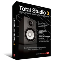 IK Multimedia Total Studio 3 Instruments and Effects Bundle (boxed)
