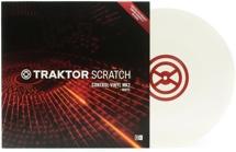 Native Instruments Traktor Scratch Control Vinyl MK2 - White