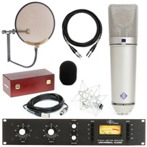 Neumann U 87 Ai Microphone Set with Universal Audio 1176