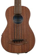 Kala U-Bass Mahogany, Fretless - Natural
