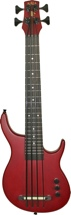 Kala Solid Body U-Bass SUB - 4-String, Fretted, Red
