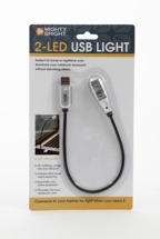 Mighty Bright USB Light - Two LED, USB, White