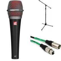 sE Electronics V7 Handheld Microphone with Stand and Cable