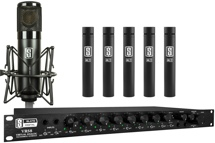 Slate Digital VRS8 with ML-1 & Five ML-2 Modeling Microphones Bundle