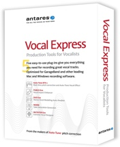 Antares Vocal Express Vocal Production Plug-in Bundle