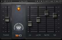Waves W43 Noise Reduction Plug-in - Native
