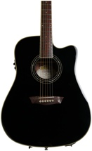 Washburn WCD18CE Comfort Select Dreadnought - Black