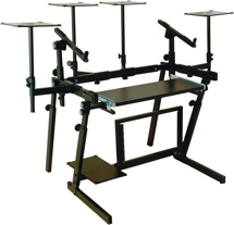 On-Stage Stands WS8700 Professional Workstation