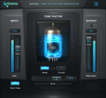 Antares WARM Tube Saturation Plug-in