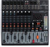 Behringer Xenyx X1222USB Mixer and Audio Interface with Effects