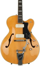 Guild X-175B Manhattan with Guild Vibrato - Blonde