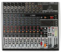 Behringer Xenyx X1832USB Mixer and USB Audio Interface with Effects
