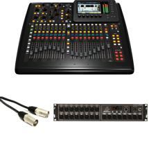 Behringer X32 Compact Mixer with S16 Stage Box