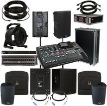 Behringer X32 Complete PA Package