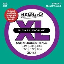 D'Addario XL156 Nickel Wound Fender Bass VI Strings
