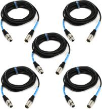 Pro Co EXM-20, 5-Pack Excellines Microphone Cable - 20'