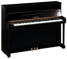 Yamaha b2 Acoustic Upright Piano - Polished Walnut