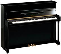 Yamaha b2 Acoustic Upright Piano - Polished Mahogany