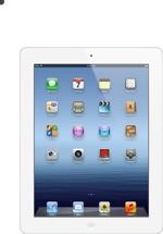 Apple iPad - Wi-Fi, 64GB White