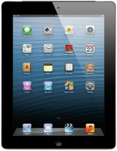 Apple iPad with Retina Display - Wi-Fi + 4G, Verizon, 16GB Black
