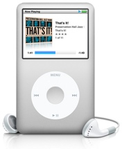 Apple iPod classic - Silver