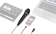 IK Multimedia iRig Mic HD Handheld iOS Microphone