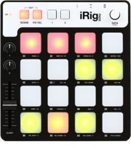 IK Multimedia iRig PADS Portable MIDI Groove Controller