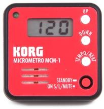 Korg MCM-1 Micrometro Clip-On Metronome - Red