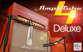 IK Multimedia AmpliTube 4 Deluxe Software Suite image 1