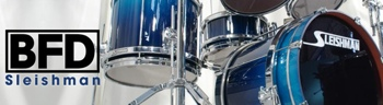 FXpansion BFD Sleishman Drums Expansion Pack image 1