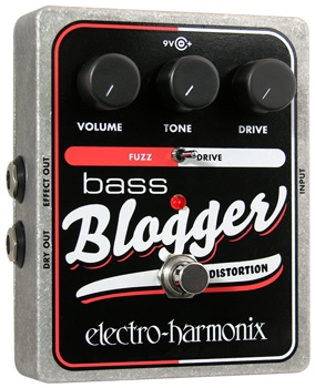 Electro-Harmonix Bass Blogger Bass Overdrive Pedal image 1