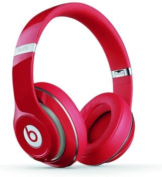 Beats Studio Headphones - Red image 1