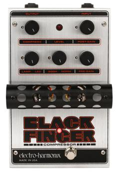 Electro-Harmonix Black Finger Tube Compressor Pedal image 1