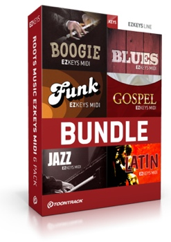 toontrack roots music ezkeys midi 6 pack sweetwater. Black Bedroom Furniture Sets. Home Design Ideas