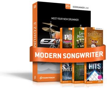 Toontrack EZdrummer Modern Songwriter Bundle image 1