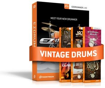 Toontrack EZdrummer Vintage Drums Bundle image 1