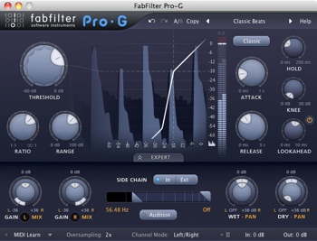 FabFilter Pro-G Plug-in image 1
