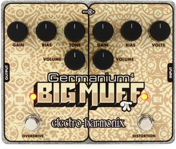 Electro-Harmonix Germanium 4 Big Muff Pi Distortion / Overdrive Pedal image 1