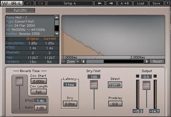Waves IR-L Convolution Reverb Plug-in image 1