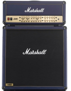 Marshall JVM410H Joe Satriani Edition Amp and Cab Bundle image 1