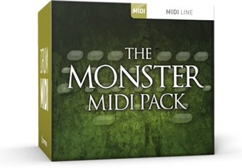 Toontrack Monster MIDI Pack image 1