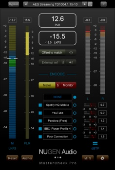 NUGEN Audio MasterCheck Pro Plug-in image 1