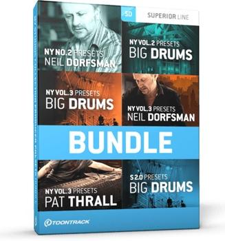 Toontrack Producer Preset 6-pack - SDX Expansion Library image 1
