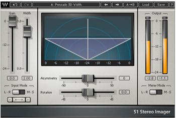 Waves S1 Stereo Imager Plug-in image 1
