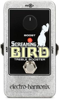Electro-Harmonix Screaming Bird Treble Booster Pedal image 1