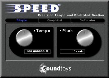 Soundtoys Speed Plug-in image 1