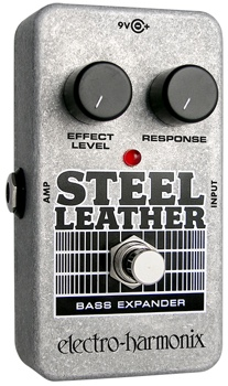 Electro-Harmonix Steel Leather Attack Expander Pedal for Bass image 1