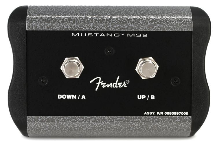 Fender Mustang IV/V 2-button Programmable Footswitch image 1