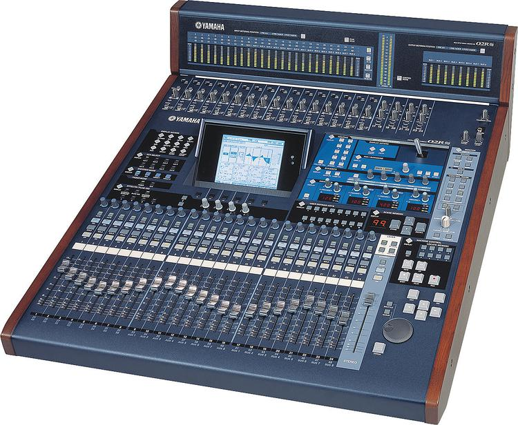 Yamaha 02R96VCM 56-channel 8-bus Digital Mixer image 1