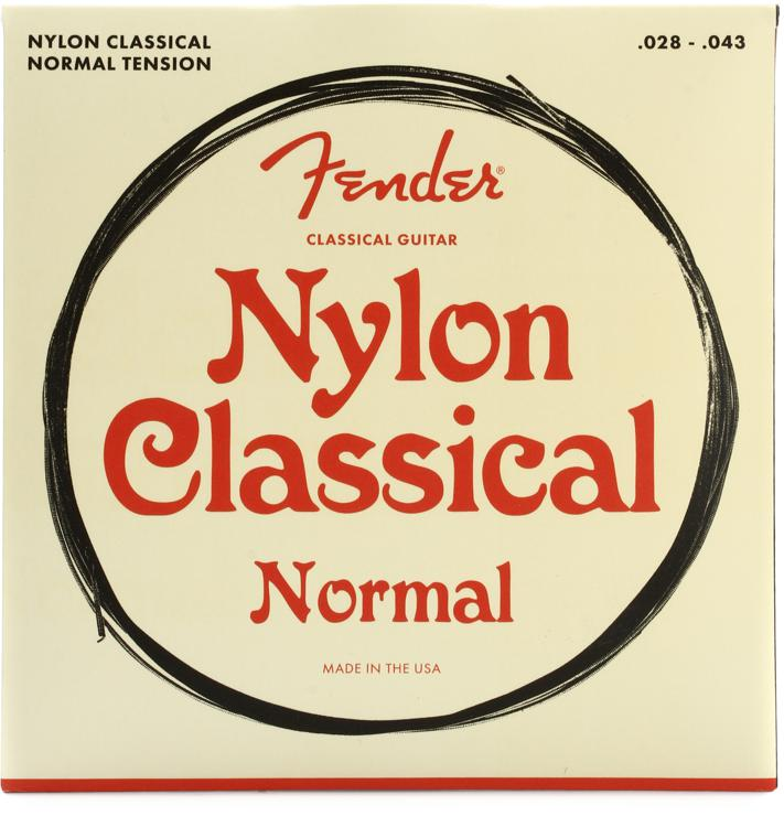 Fender 100 Clear Nylon Tie End Classical Strings image 1